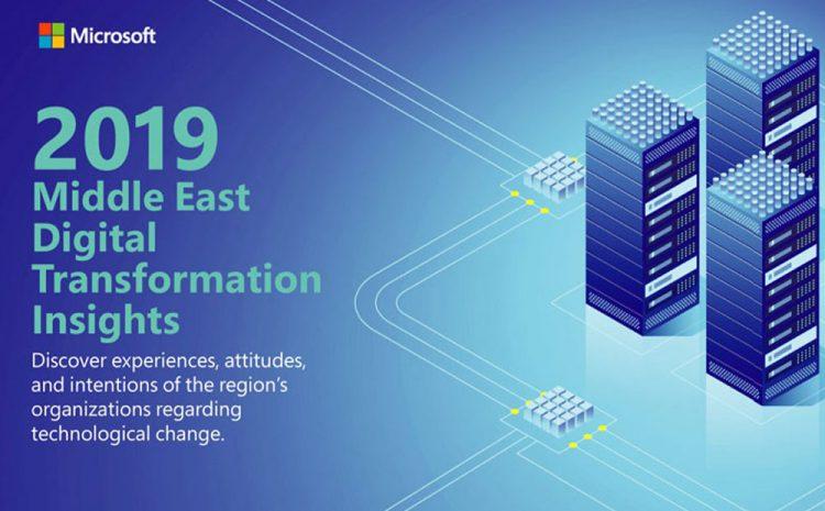 Microsoft research reveals regional organisations' 2019 'manifesto' on digital transformation